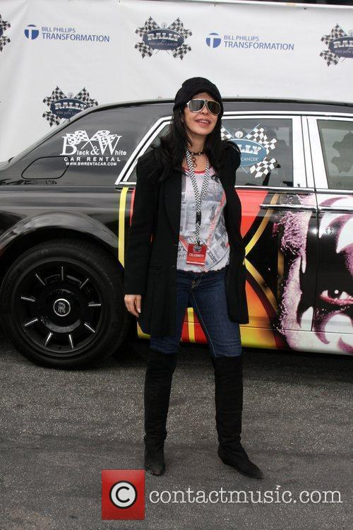 Maria Conchita Alonso at the 'Rally for Kids...