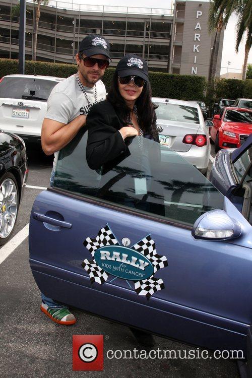Greg Vaughn and Maria Conchita Alonso at the...