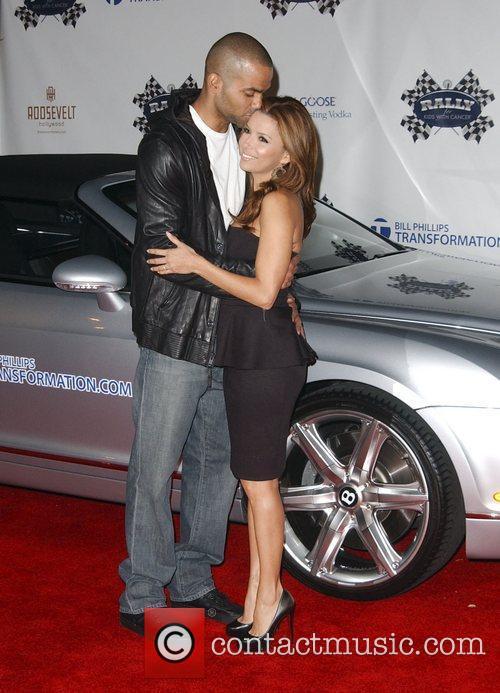 Tony Parker and Eva Longoria Parker 'Rally for...