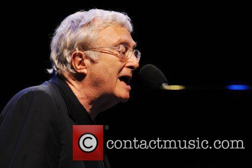 Randy Newman performs at the Royal Festival Hall...