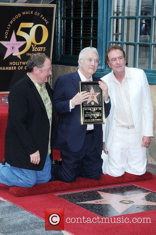 John Lasseter, Randy Newman, Star On The Hollywood Walk Of Fame