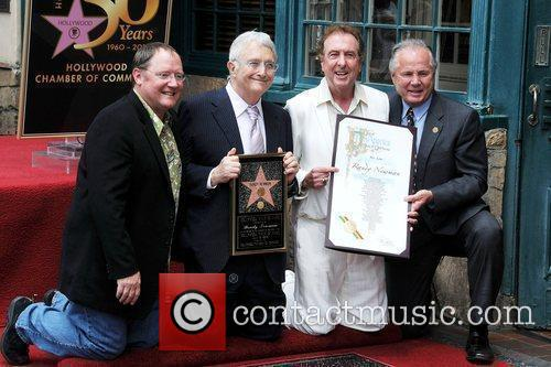 John Lasseter, Randy Newman, Star On The Hollywood Walk Of Fame