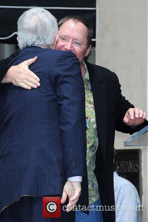 Randy Newman and John Lasseter 7