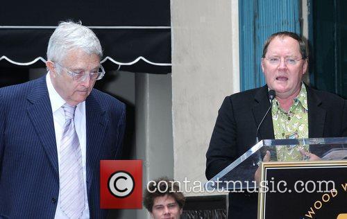 Randy Newman and John Lasseter 10