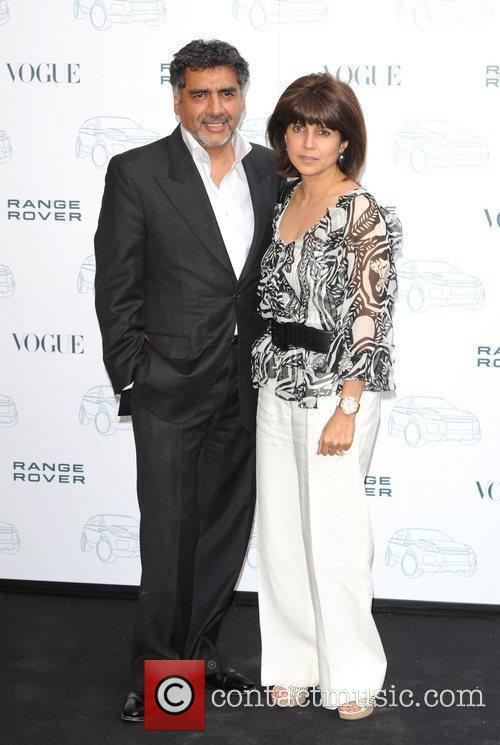 James Khan and guest Range Rover - 40th...
