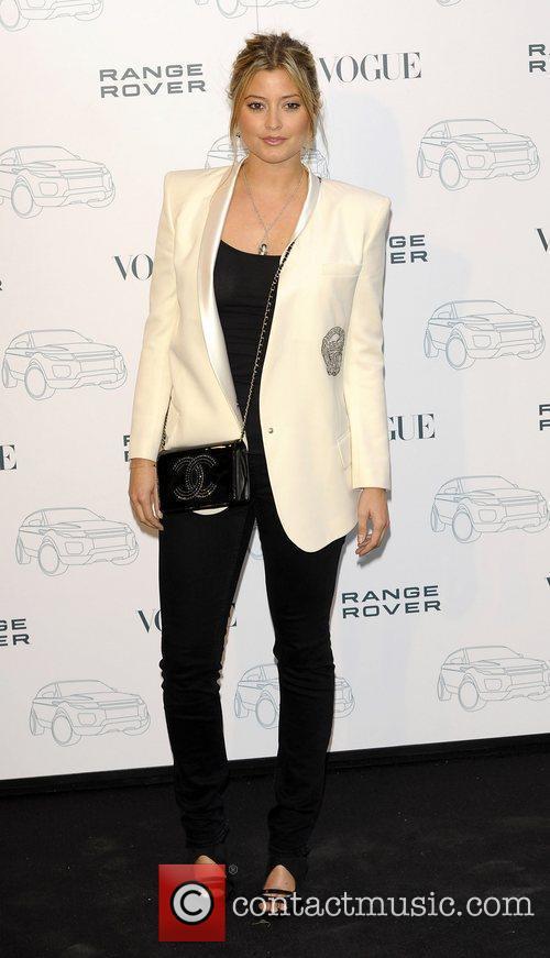 Holly Vallance  Range Rover - 40th anniversary...
