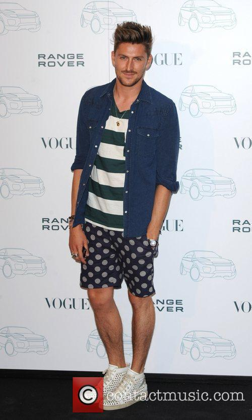 Henry Holland Range Rover - 40th anniversary party...