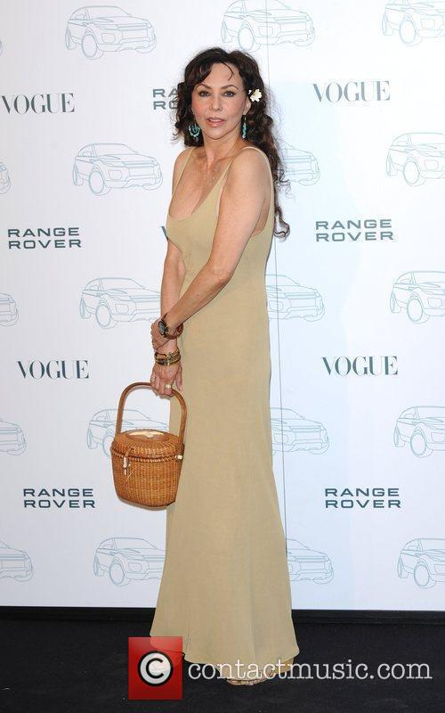 Marie Helvin Range Rover - 40th anniversary party...