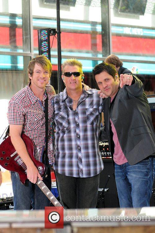 Joe Don Rooney, Gary LeVox and Jay DeMarcus...