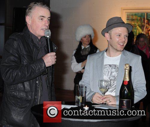 Dave Fanning, Rasher,  Artist Rasher launches his...