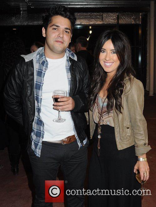 Lottie Ryan & boyfriend Fabio,  Artist Rasher...