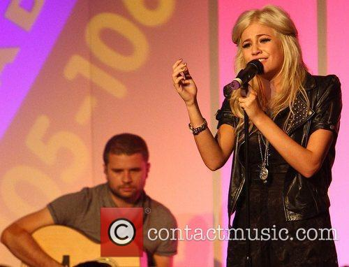 Pixie Lott performs at the Real Radio 10th...