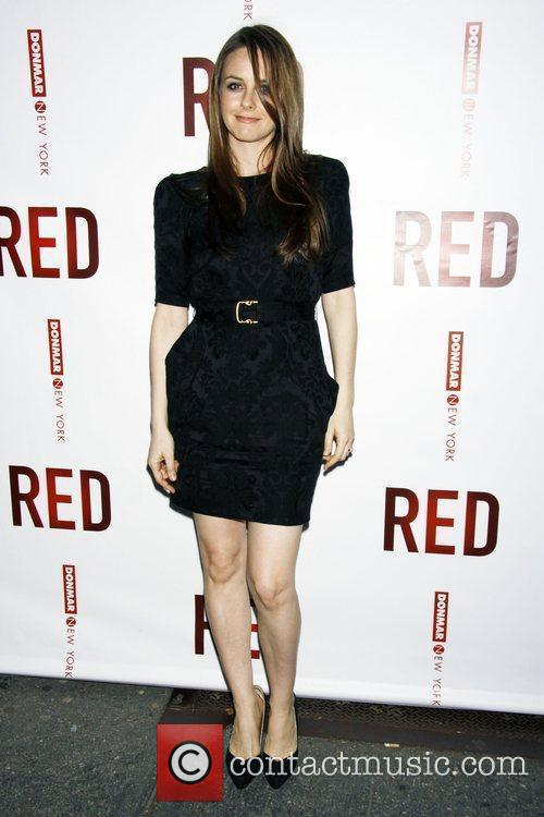 Opening night of the Broadway play 'Red' at...