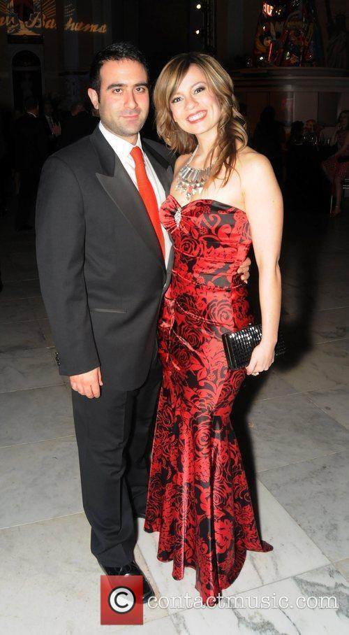 Kristie Gonzales and Vatche Manoukian attends the 'Red...