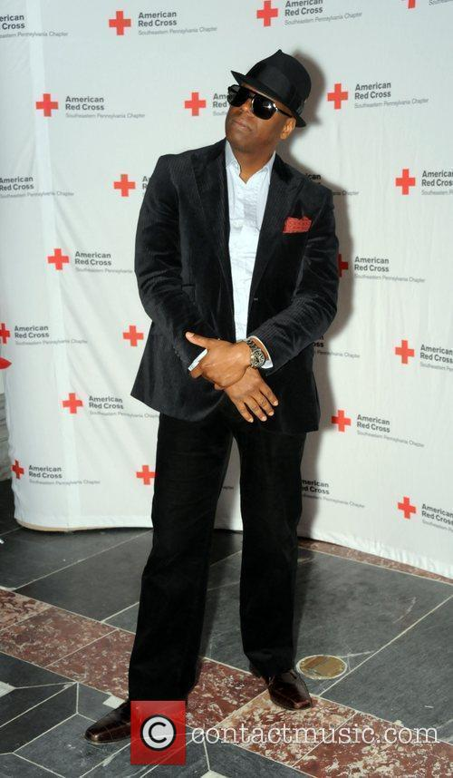 Schoolly D attends the 'Red Cross' annual red-tie...