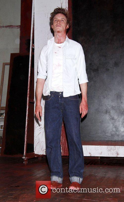 Eddie Redmayne Opening night of the Broadway play...