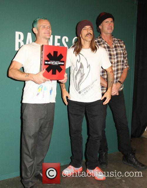 Flea, Anthony Kiedis, Chad Smith and Red Hot Chili Peppers 10