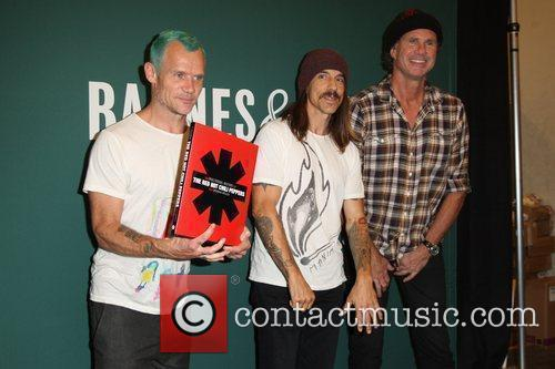 Flea, Anthony Kiedis, Chad Smith and Red Hot Chili Peppers 11