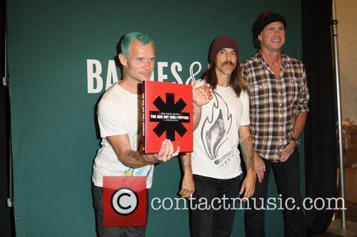 Flea, Anthony Kiedis, Chad Smith and Red Hot Chili Peppers 13