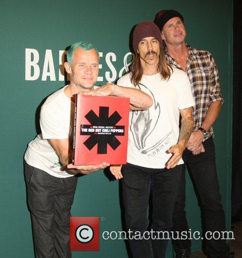 Flea, Anthony Kiedis, Chad Smith and Red Hot Chili Peppers 7