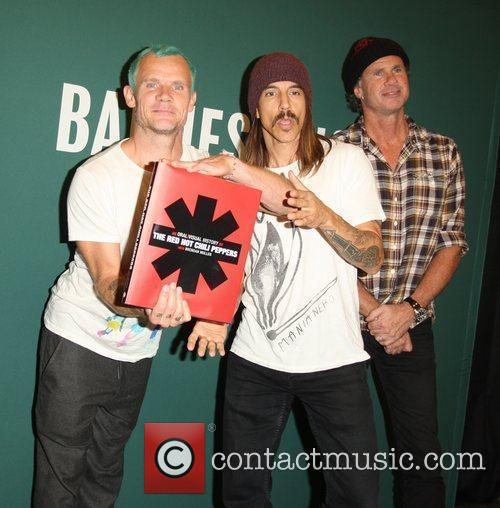 Flea, Anthony Kiedis, Chad Smith and Red Hot Chili Peppers