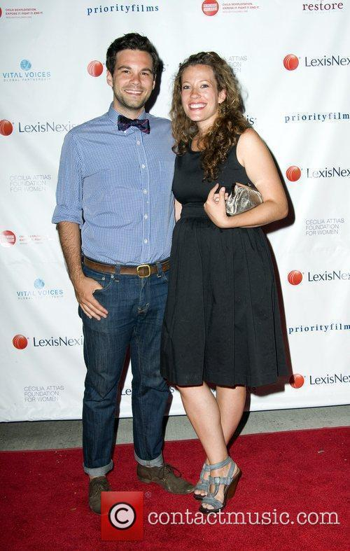 Zach and Stacy Williams New York Premiere of...