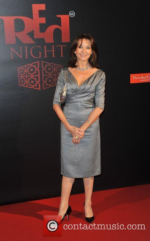 Red Night Dinner photocall held at Old Billingsgate