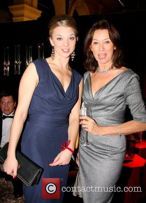 Natalie Dormer, Cherie Lunghi  Red Night Dinner...