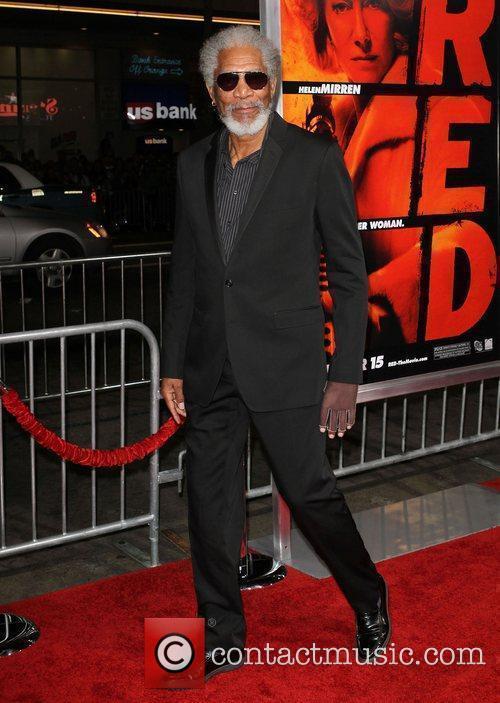 Morgan Freeman Special screening of Summit Entertainment's 'RED'...