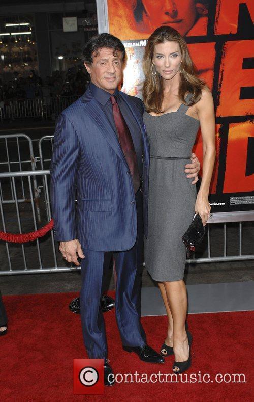 Sylvester Stallone, Jennifer Flavin Special screening of Summit...