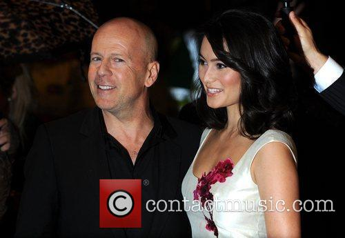 Bruce Willis and Guest The UK premiere of...