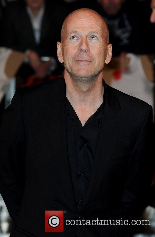 Bruce Willis The UK premiere of 'RED' held...