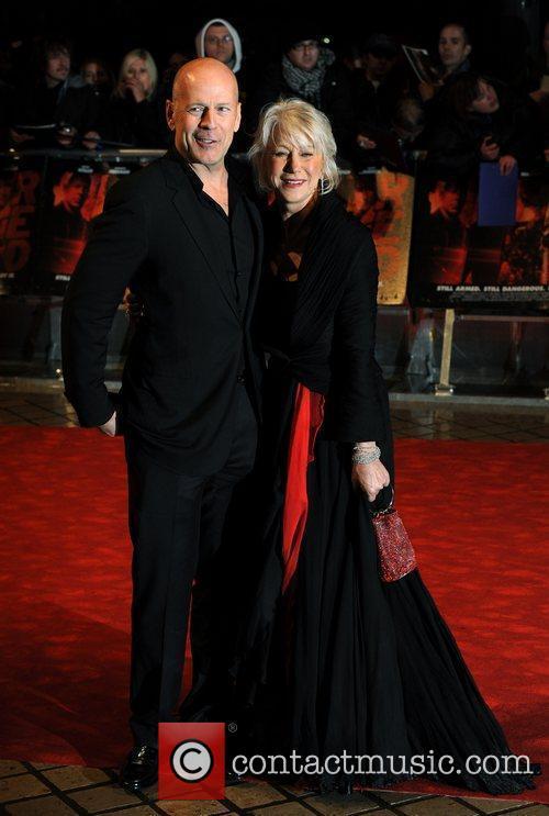 Bruce Willis, Helen Mirren  The UK premiere...