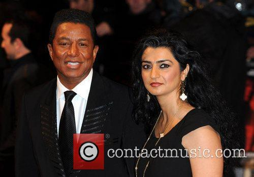 Jermaine Jackson and guest The UK premiere of...