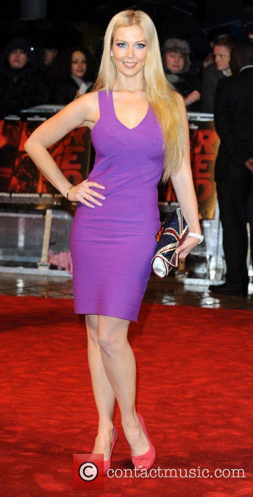 Liz Fuller The UK premiere of 'RED' held...