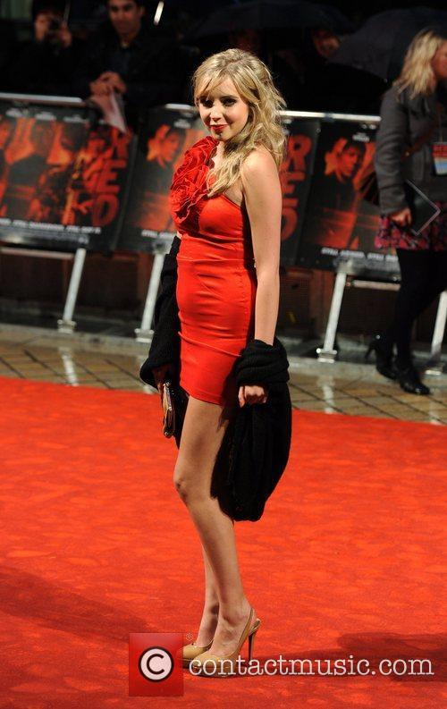 Alice Barlow The UK premiere of 'RED' held...