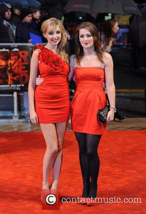Alice Barlow and Beth Kingston The UK premiere...