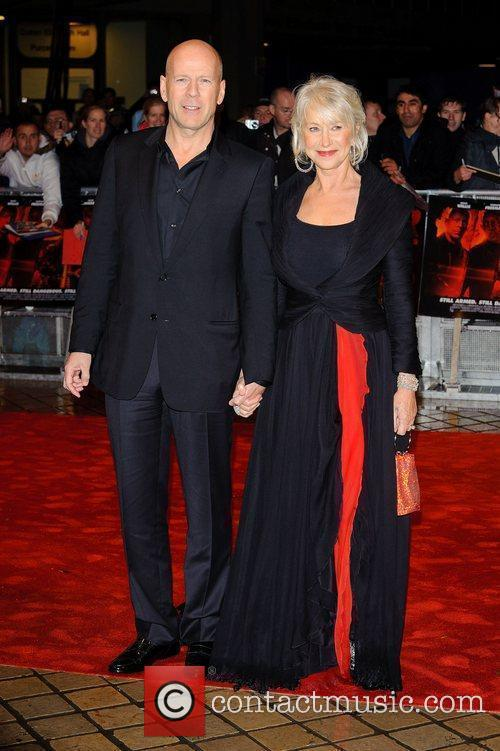 Bruce Willis and Dame Helen Mirren,  The...