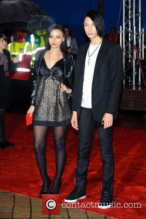 Natt and Leah Meller,  The UK premiere...