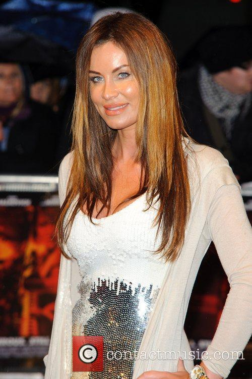 Jo-Emma Larvin,  The UK premiere of 'RED'...