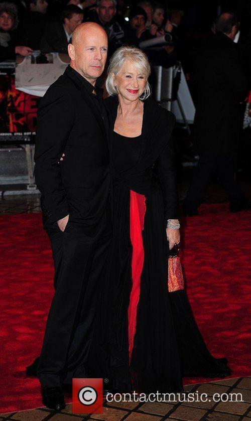 Dame Helen Mirren and Bruce Willis,  The...