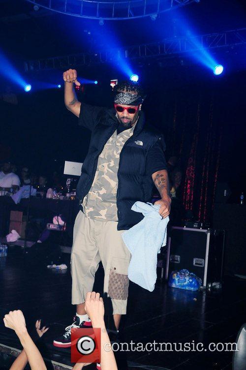 Redman performing at Revolution Fort Lauderdale, Florida