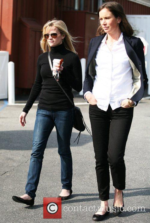 Reese Witherspoon  after having lunch with a...