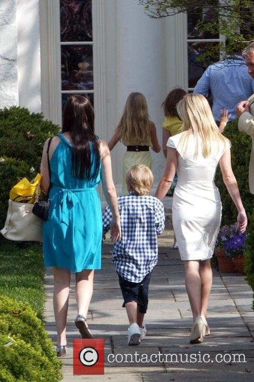 Reese Witherspoon and her children Deacon Reese Phillippe...