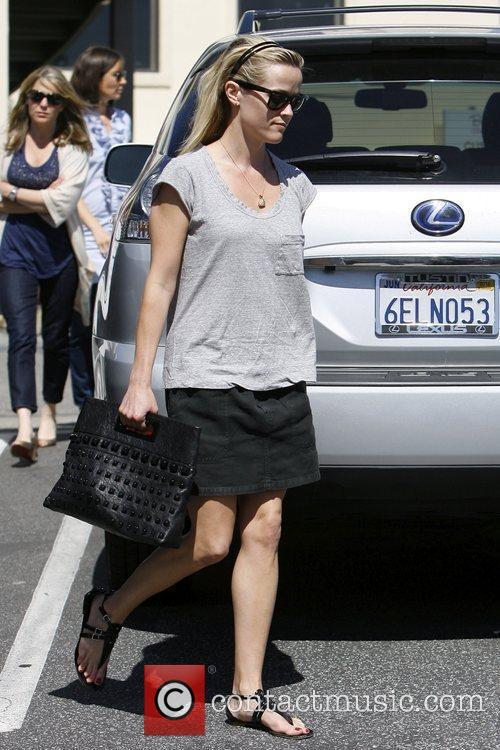 Reese Witherspoon out and about in Brentwood.