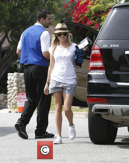 Reese Witherspoon  attending the birthday party of...