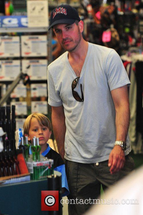 Jim Toth and girlfriend Reese Witherspoon's son Reese...