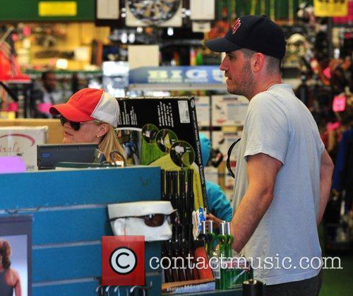 Reese Witherspoon with her boyfriend Jim Toth out...