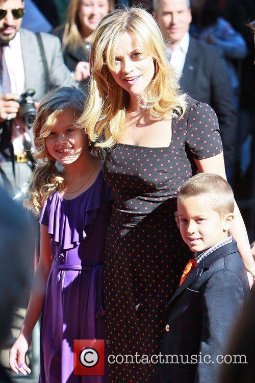Ava Phillipe, Reese Witherspoon and Deacon Phillippe Reese...