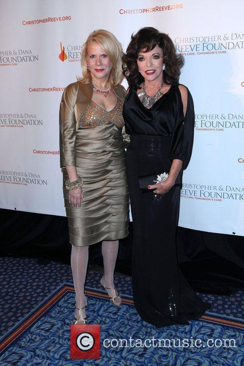 Joan Collins and Dana Reeve 4